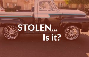 Stolen Classic 1955 Ford F-100