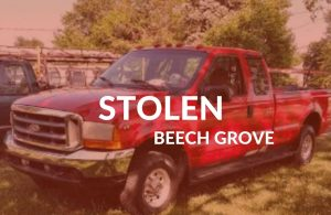 Red F-250 Super Duty Stolen From BEECH GROVE, INDIANA