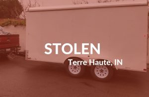 Patriot Cargo Trailer With My Life Inside Stolen