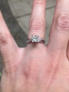 Custom Engagement Ring Missing Almost 1 Year