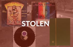 STOLEN VINYL RECORD AND STAMP COLLECTIONS -PACIFICA CA